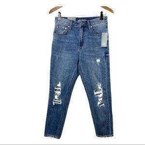 WILD FABLE Destroyed Mom Jeans NWT 2